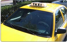 The Yellow Cab Taxi